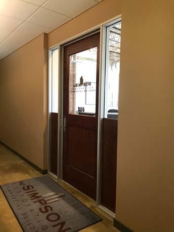 MJS Entrance Door