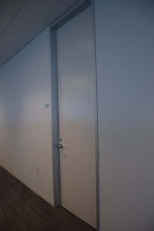 BTG Pactual white office door 3