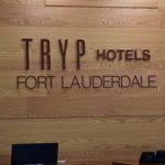 TRYP Hotel indoor sign horizontal Thumbnail