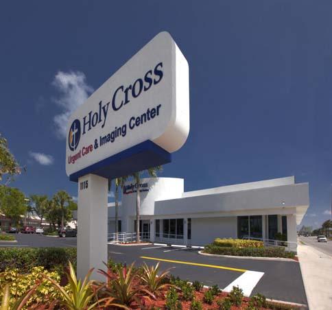 Holy Cross West Boca sign